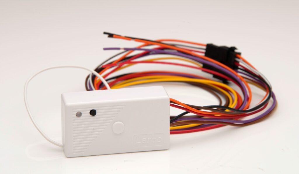 Receptor radiocontrolado de 433 MHz