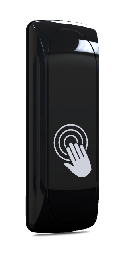 J-Wave Non-Touch Switch Black