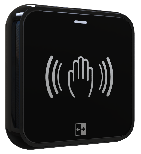 AerWave Wireless Touchless Switch Hand logo side