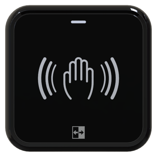 AerWave Wireless Touchless Switch Hand logo